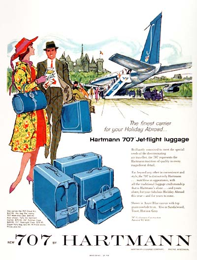 1960 Hartman 707 Luggage