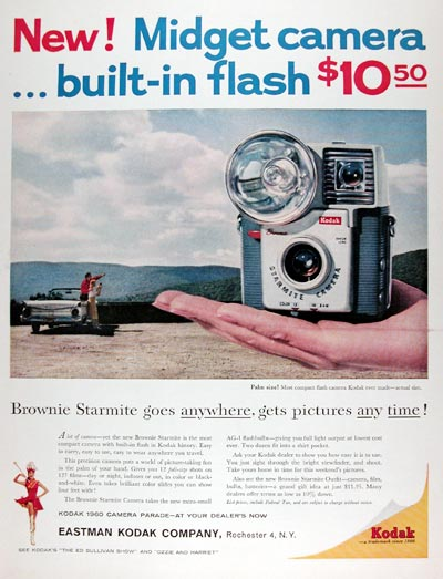 1960 Kodak Brownie Starmite Camera #015366