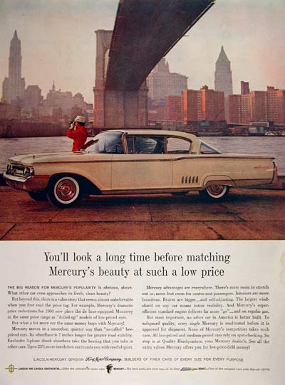 1960 Mercury Monterey Coupe #004318