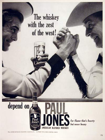 1960 Paul Jones Whiskey #004316