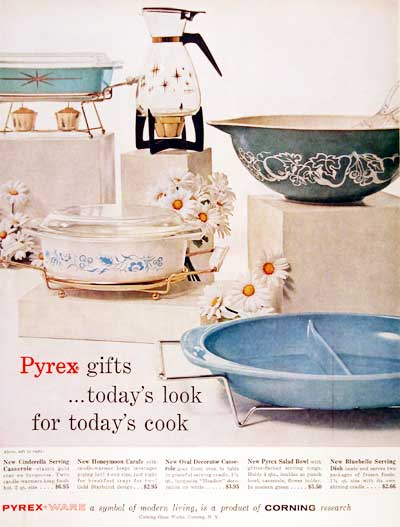 1960 Pyrex Cookware Vintage Ad #003626
