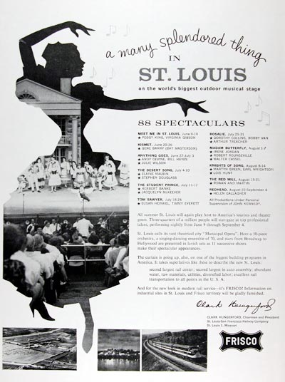 1960 St. Louis Theater Musicals #015378