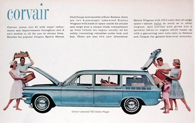 1961 Chevrolet Corvair Lakewood Station Wagon