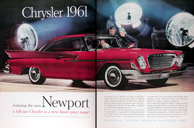 1961 Chrysler Newport Coupe #011333