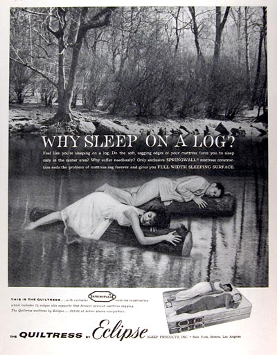 1961 Eclipse Quiltress Mattress #017983