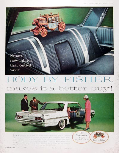 1961 Fisher Body #017996