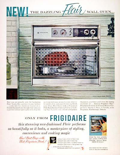 1961 Frigidaire Wall Oven #003638