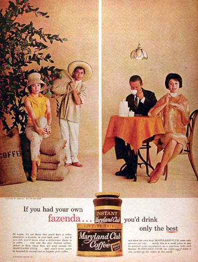 1961 Maryland Club Coffee #017952