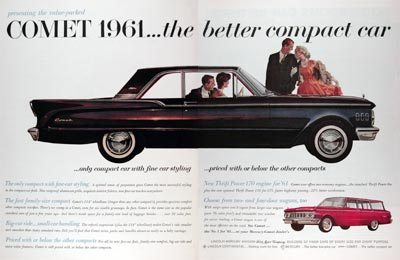 1961 Mercury Comet Coupe & Station Wagon #011345