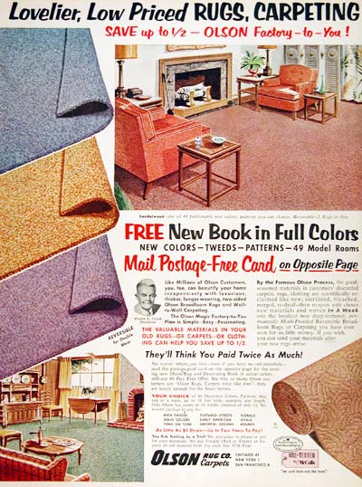 1961 Olson Rugs & Carpets #003637