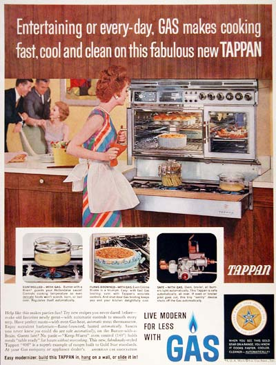 1961 Tappan Gas Oven #003631