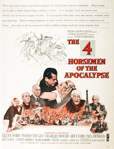 "1962 ""The 4 Horsemen of the Apocalypse"""