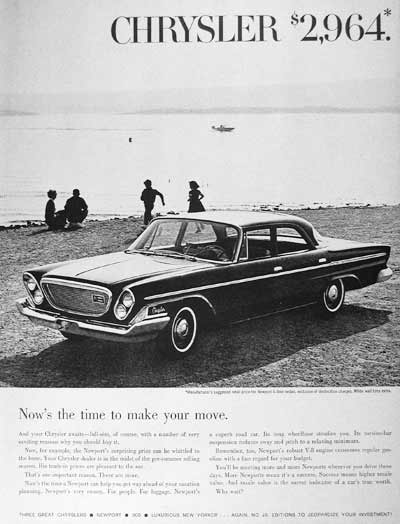 1962 Chrysler Newport #000905