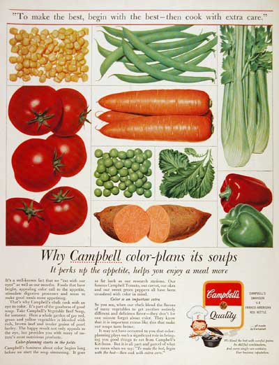 1963 Campbell's Soup #003335