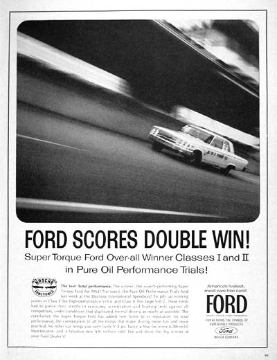 1963 Ford Nascar Racing