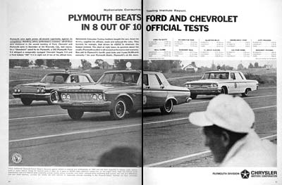 1963 Plymouth Fury Test #002485