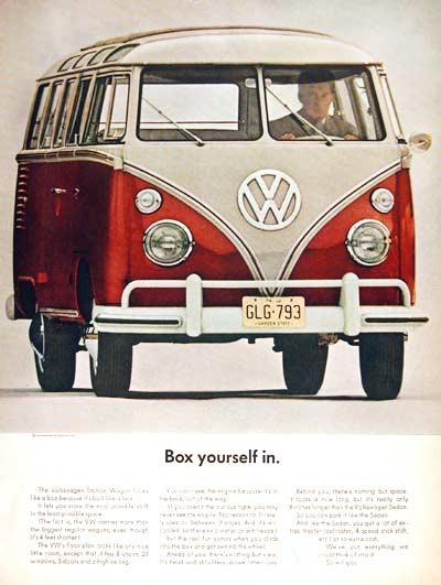 1963 VW 21 Window Bus #002475