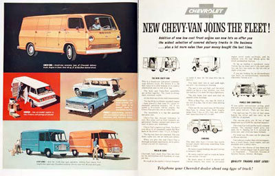 1964 Chevrolet Van Fleet #001070
