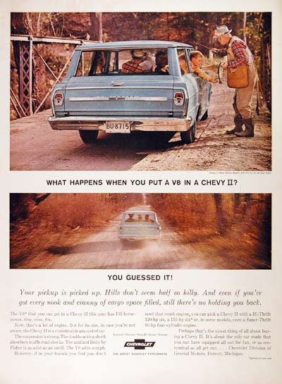 1964 Chevrolet Wagon #001015