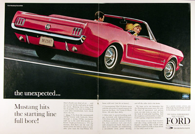 1964 Ford Mustang Convertible Debut #023310