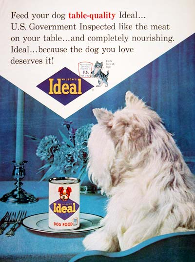 1964 Ideal Dog Food #003658