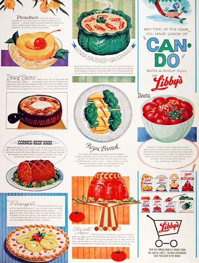 1964 Libby's Foods #003655