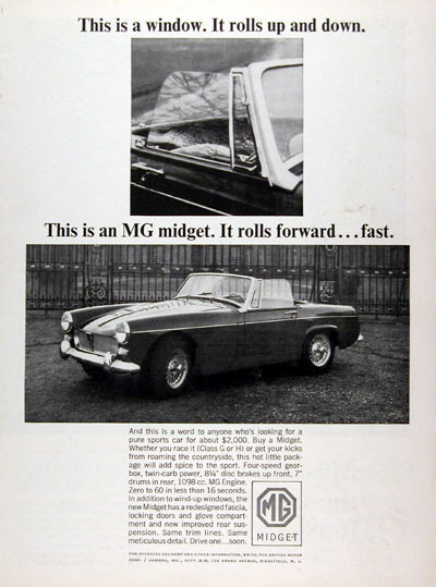 1964 MG Midget Convertible #023315