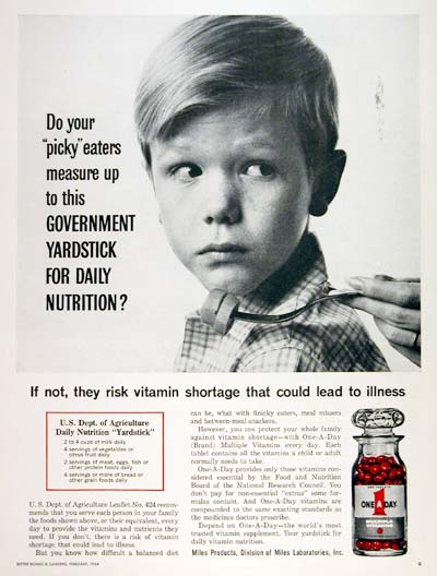 1964 One A Day Vitamins #003650