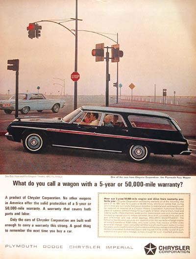 1964 Plymouth Fury Wagon #002489