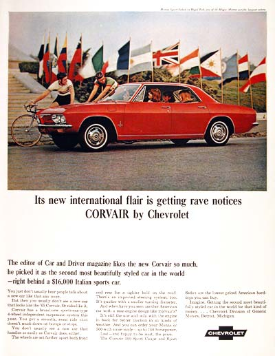 1965 Chevrolet Corvair #002500