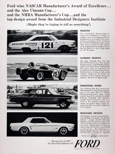 1965 Ford Racing #023351