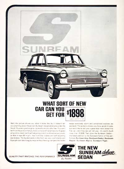 1965 Sunbeam Sedan #003047
