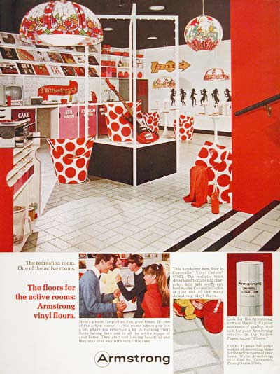 1966 Armstrong Vinyl Floors #003664