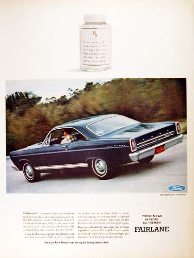 1966 Ford Fairlane GT #001177