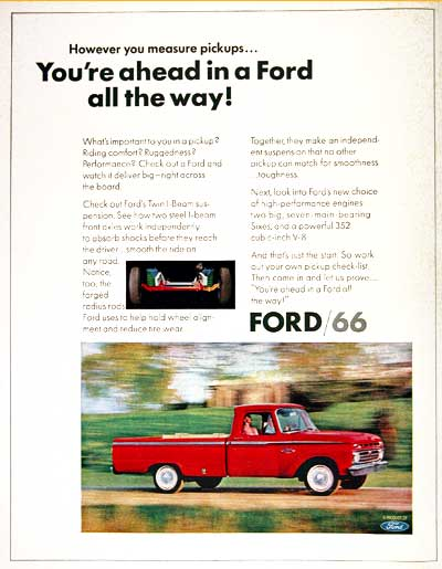 1966 Ford Pickup #002592