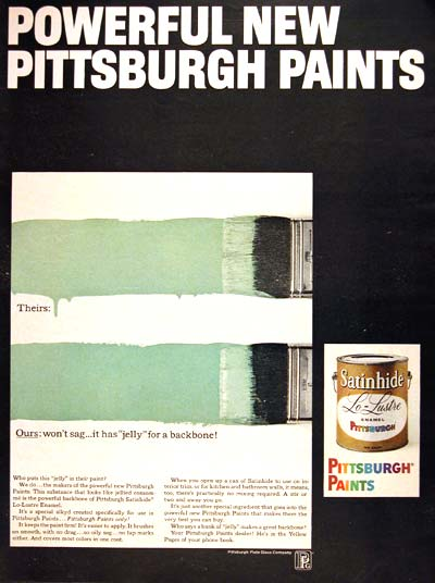 1966 Pittsburgh Paints