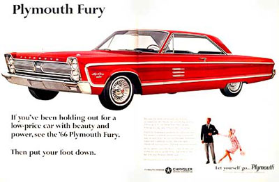 1966 Plymouth Fury Sport #001217
