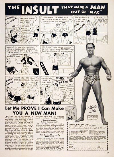 1967 Charles Atlas Bodybuilding #004698