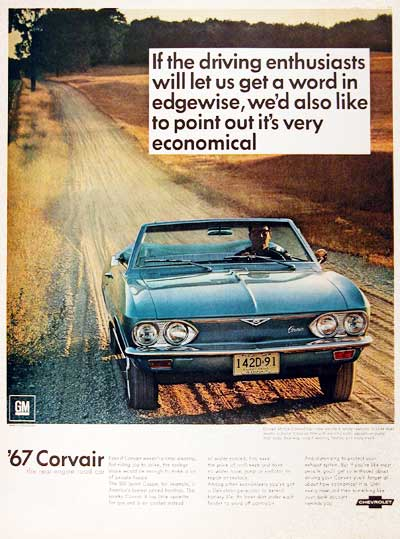 1967 Chevrolet Corvair #001779