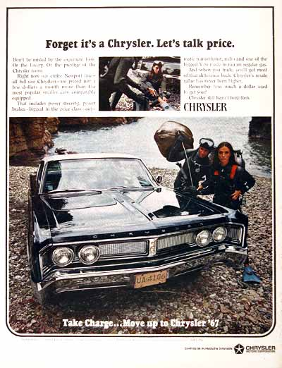 1967 Chrysler Newport #001764