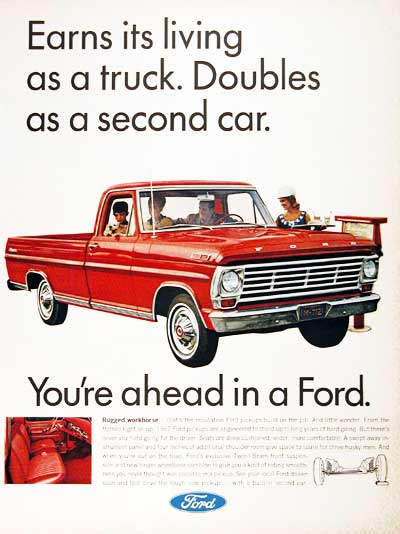 1967 Ford 100 Pickup #001755
