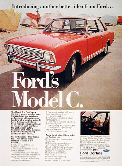 1967 Ford Cortina GT #004734