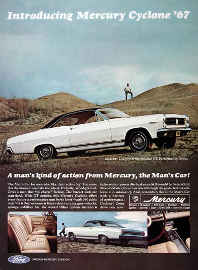 1967 Mercury Cyclone GT #023949
