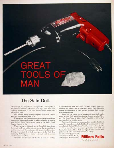 1967 Millers Falls Power Drill #004230