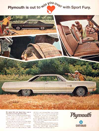 1967 Plymouth Fury  #001756