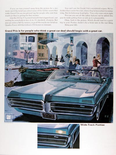 1967 Pontiac Grand Prix Convertible #025124