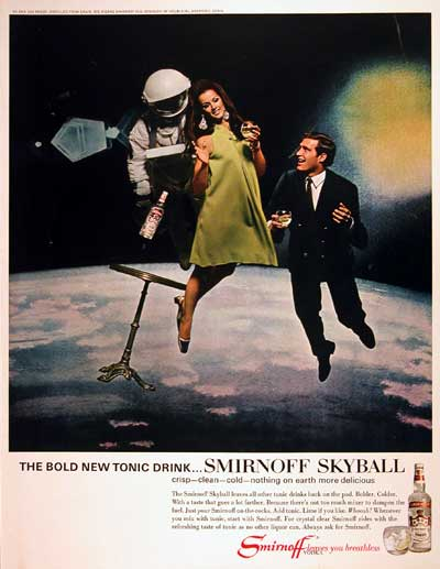 1967 Smirnoff Vodka Skyball #004259