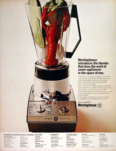 1967 Westinghouse Blender #004235