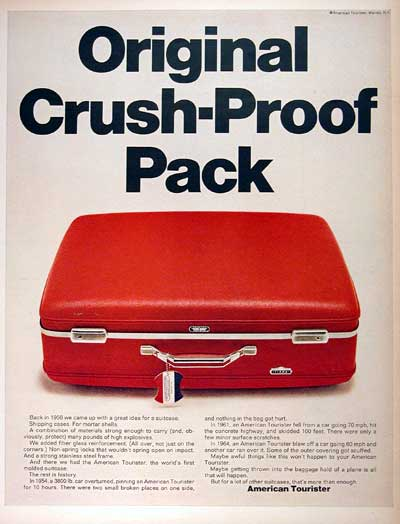 1968 American Tourister #001806