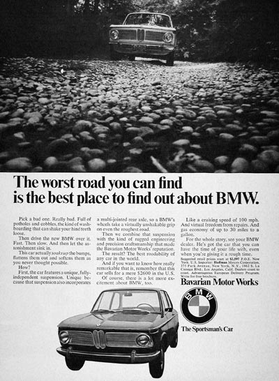 1968 BMW Coupe #004758